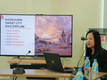 KKU Library fuels research on Smart City development for keys offices in Khon Kaen